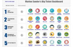 Marlon Sanders: Big Ticket Dashboard