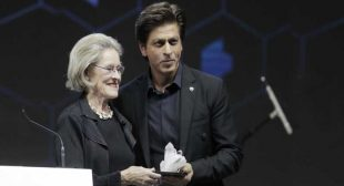 Shah Rukh Khan honoured with Crystal award at World Economic Forum